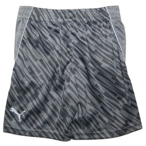 PUMA Little Boys Geometric Performance Shorts (6)